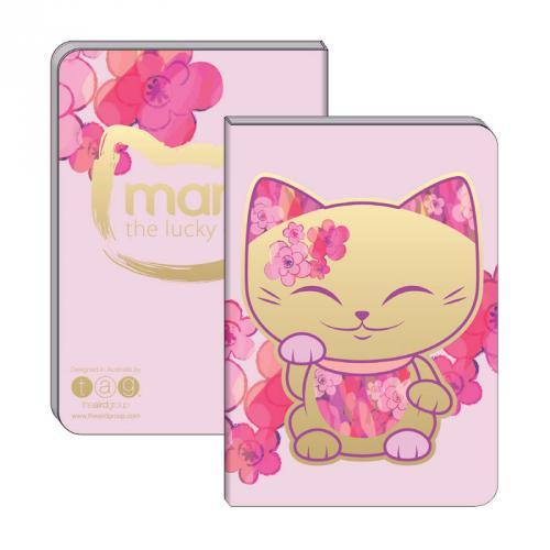 Poznámkový blok Mani Lucky Cat