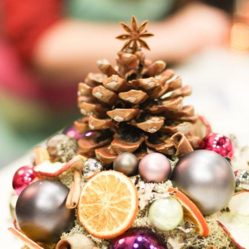 Vianočné aranžmány, kurz