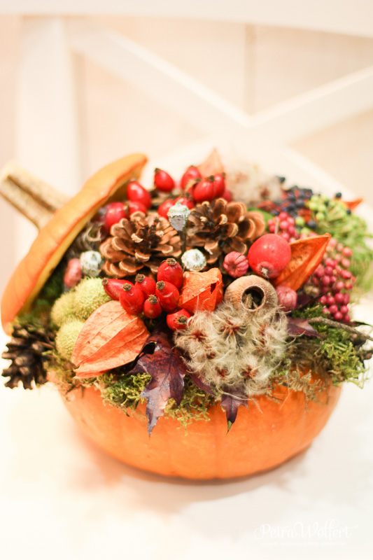 Jesenný kurz, Kvetinová škola Petra Wolfert