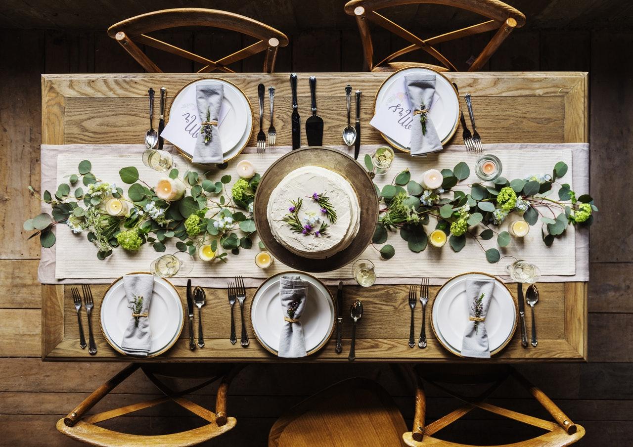 Prenájom svadobného inventáru a dekorácií